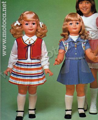 boneca amiguinha anos 70