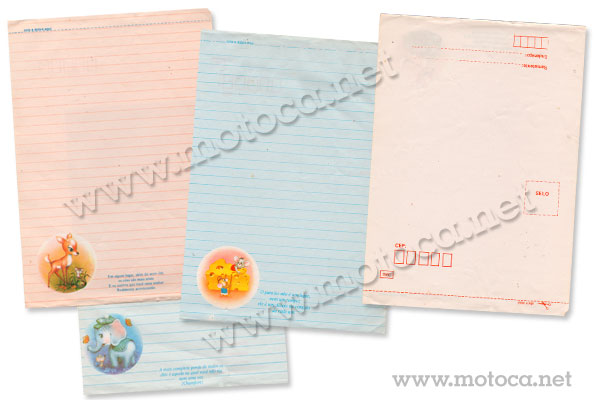 bloco papel carta